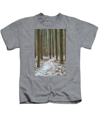 Winter's Trail Kids T-Shirt