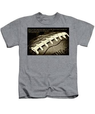 Wsu Cougar Dan Lynch Quote Kids T-Shirt