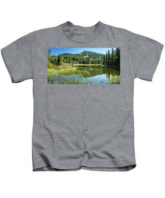 A Mt. Washington Summer Kids T-Shirt
