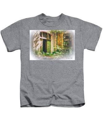 Abandoned House Kids T-Shirt