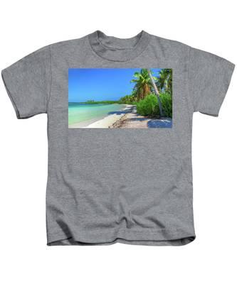 Caribbean Palm Beach Kids T-Shirt