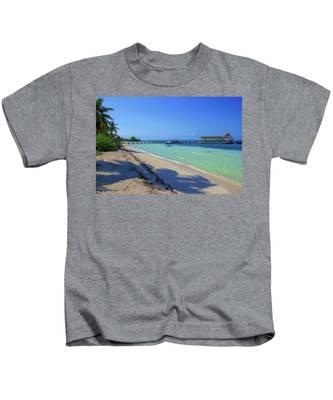 Jetty On Isla Contoy Kids T-Shirt