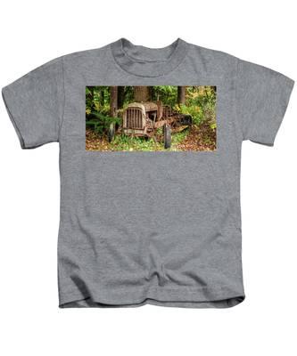 Old Logging Equipment-1 Kids T-Shirt