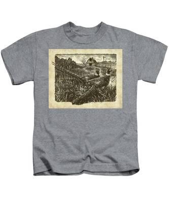 Pheasants Kids T-Shirt