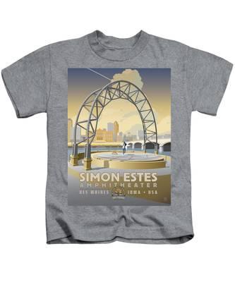 Simon Estes Amphitheater Kids T-Shirt