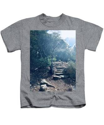 Steps To Enlightenment  Kids T-Shirt