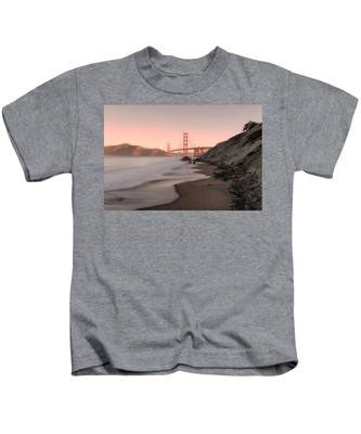 Sunrise In San Fransisco- Kids T-Shirt