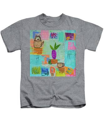 The Art Of Tea Two Kids T-Shirt