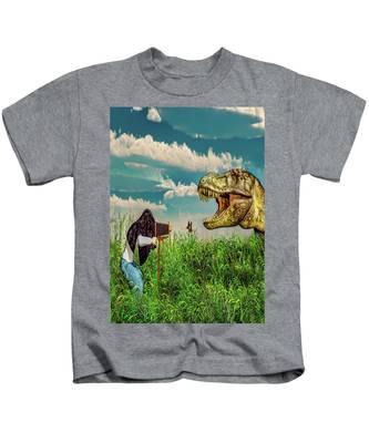 Wildlife Photographer  Kids T-Shirt