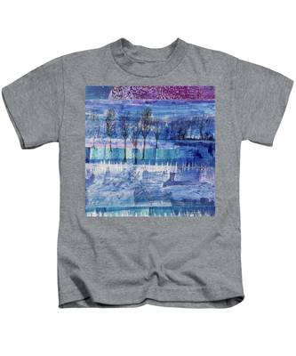 Winter Blues 1 Kids T-Shirt