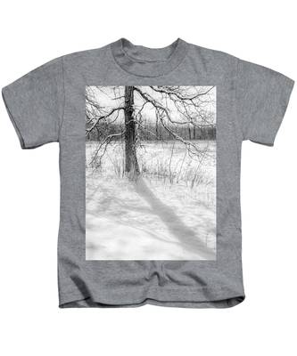 Winter Simple Kids T-Shirt
