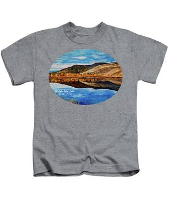 Wonderland Lake Kids T-Shirt