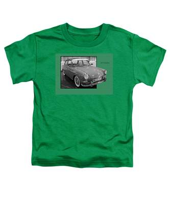 1965 Vw Notchback Toddler T-Shirt