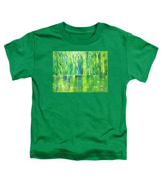 Serenity In Green Toddler T-Shirt