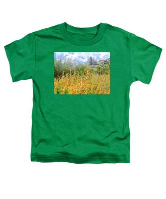 Toddler T-Shirt featuring the photograph Heavenly Home In Arizona by Judy Kennedy