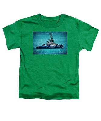 Salvage Tug Boat Toddler T-Shirt