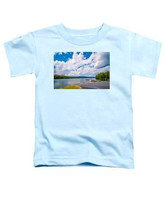 Scenery Around Lake Jocasse Gorge Toddler T-Shirt