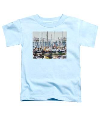 4 Boats Toddler T-Shirt