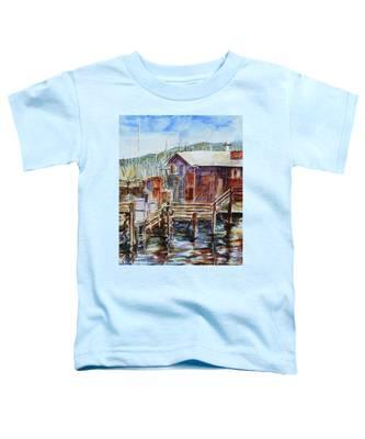 At Monterey Wharf Ca Toddler T-Shirt