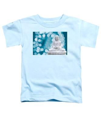 Buddha Enlightenment Blue Toddler T-Shirt