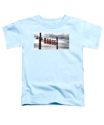 by The Barge Toddler T-Shirt