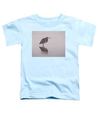Evening Heron Toddler T-Shirt