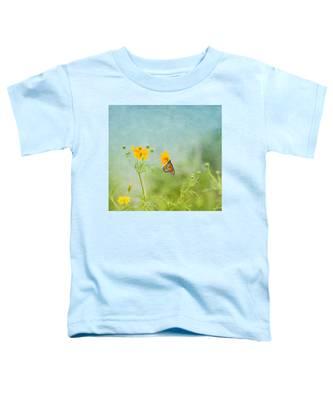 In The Garden - Monarch Butterfly Toddler T-Shirt