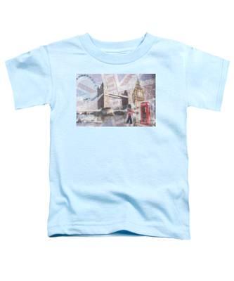London Blue Toddler T-Shirt