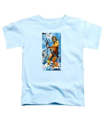 Poseidon - W/hidden Pictures Toddler T-Shirt