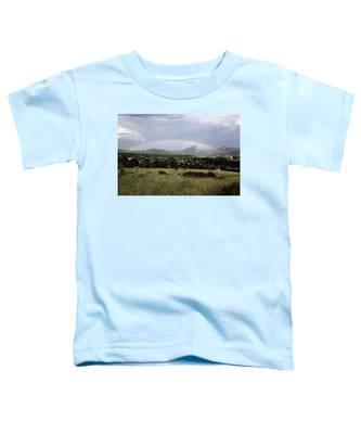 Rainbow Over Lake Estes Toddler T-Shirt