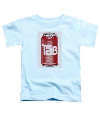 Tab Ode To Andy Warhol Toddler T-Shirt