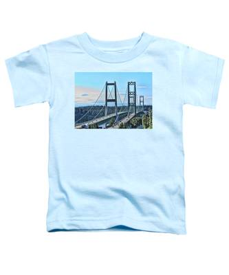 Tacoma Narrows Bridge 51 Toddler T-Shirt