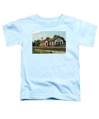 Villisca Train Depot Toddler T-Shirt