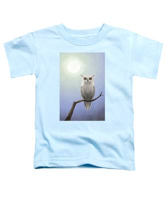 White Owl Toddler T-Shirt