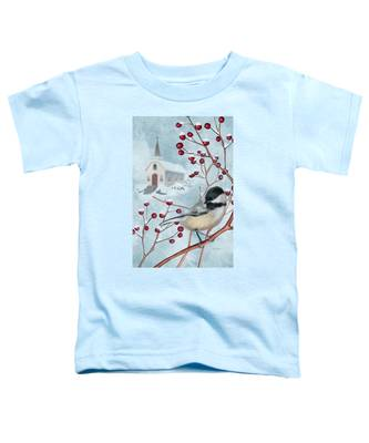 Winter Scene I Toddler T-Shirt