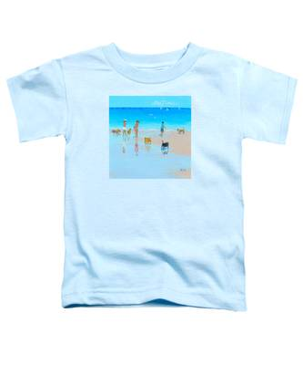 Dog Beach Day Toddler T-Shirt