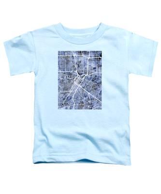 Houston Texas City Street Map Toddler T-Shirt