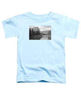 Bath On Avon By Mike Hope Toddler T-Shirt