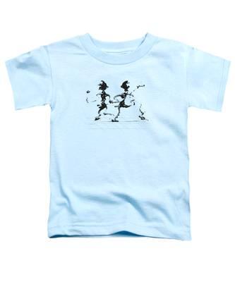 Dancing Couple 3 Toddler T-Shirt by Manuel Sueess