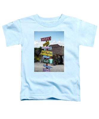 Here's What's Here 1 Toddler T-Shirt