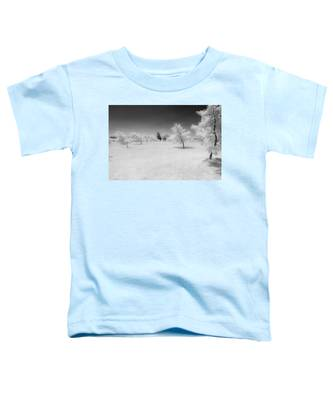 Infrared Peach Orchard Toddler T-Shirt