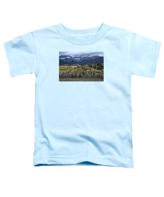 Last Light On Autumn Aspens Toddler T-Shirt