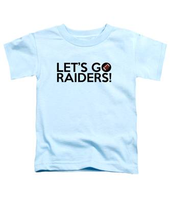 Let's Go Raiders Toddler T-Shirt