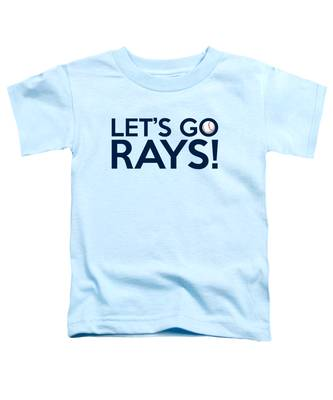 Let's Go Rays Toddler T-Shirt