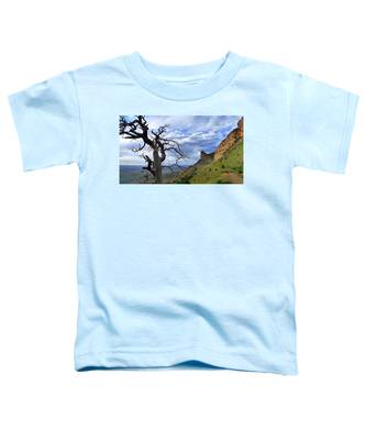 Toddler T-Shirt featuring the photograph Mesa Verde Mood by Skip Hunt