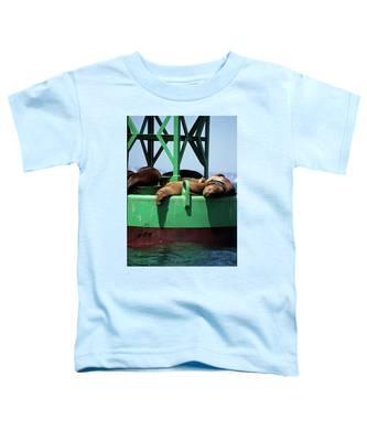 Seals On Channel Marker Toddler T-Shirt