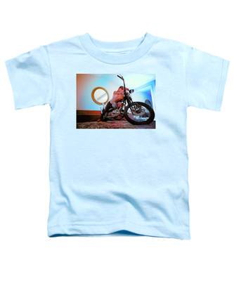 She Rides- Toddler T-Shirt