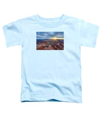 Sunburst At Dead Horse Point Toddler T-Shirt