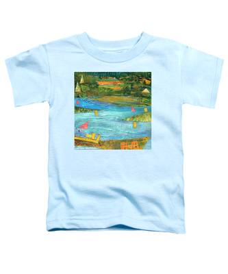 Sunset Sails 2 Toddler T-Shirt