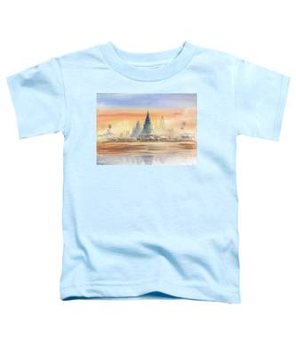 Temples In The Dusk Toddler T-Shirt